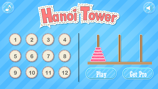 Hanoi Tower  Apps For Pc – Free Download On Windows 7, 8, 10 And Mac 1