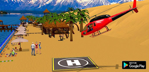 Screenshot of Helicopter Taxi Tourist Transport