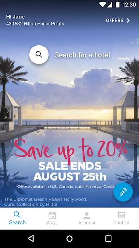 Hilton Honors: Book Hotels 2021.1.26 screenshots 2