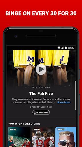 ESPN android2mod screenshots 5