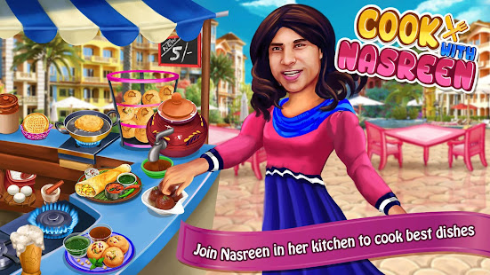 Cooking with Nasreen: Chef Restaurant Cooking Game 1.9.2 Screenshots 1