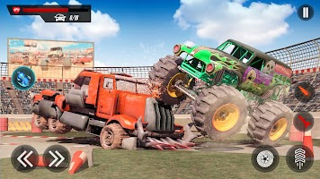 Monster Truck Destruction : Mad Truck Driving 2020