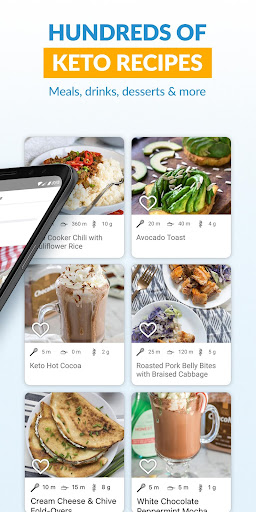 Keto Carb Counter Diet Manager: Carb Manager App screenshots 2