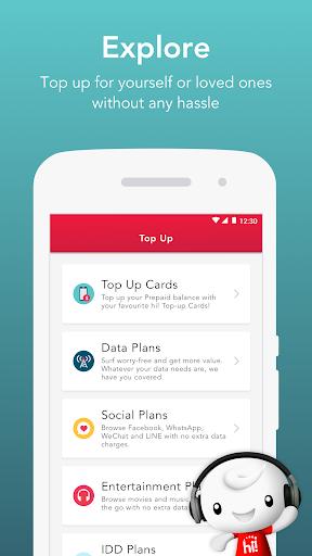 Singtel Prepaid hi!App android2mod screenshots 2
