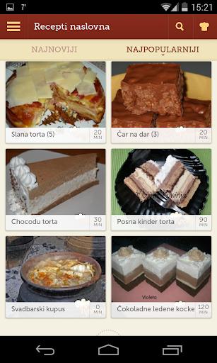 Recepti - Kuvar 1.0.11 Screenshots 1