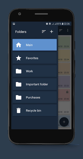 Notepad Notes android2mod screenshots 2