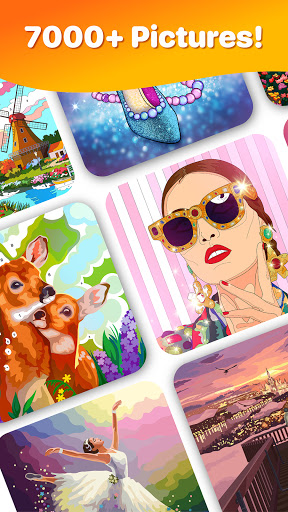 Hey Color Paint by Number Art & Coloring Book 1.5.0 screenshots 3