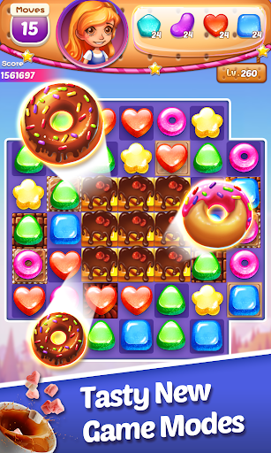 Sweet Cookie -2021 Match Puzzle Free Game  screenshots 2