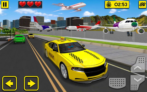 City Taxi Driving Sim 2020: Free Cab Driver Games android2mod screenshots 7