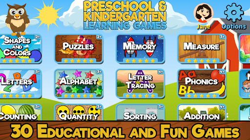 Preschool and Kindergarten Learning Games 6.6 screenshots 1