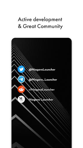 Niagara Launcher ud83dudd39 fresh & clean home screen 0.33.2 Screenshots 8