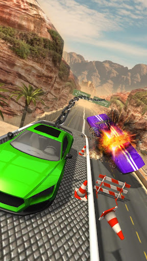 Chained Car Racing Games 3D  updownapk 1