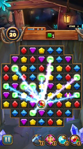 Jewels Cave Crush: Match 3 Puzzle  screenshots 6