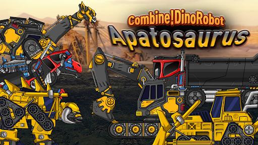 Combine! Dino Robot - Apatosaurus Dinosaur Puzzle  screenshots 1
