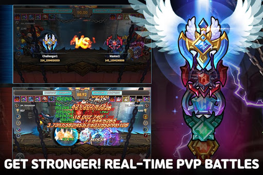 Raid the Dungeon : Idle RPG Heroes AFK or Tap Tap apkmr screenshots 6