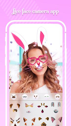 Face Camera - Snap Sweet App 1.0 Screenshots 1