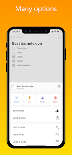 iNote Pro Apk- iOS Notes, iPhone style Notes 6