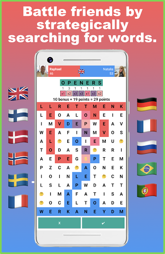 Battlexic - Strategic Words Search With Friends  screenshots 1