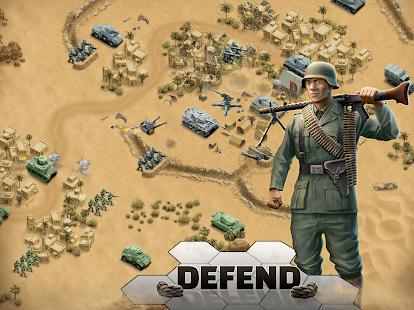 1943 Deadly Desert - a WW2 Strategy War Game screenshots 9