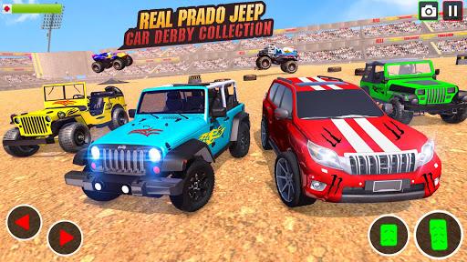 Demolition Derby Prado Jeep Car Destruction 2021 1.4 Screenshots 3