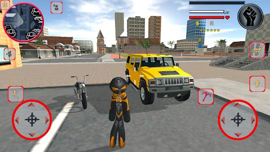 Stickman Rope Climbing Vegas Vice Hero Simulator 1.8.0 Mod Apk [Newest Version] 2