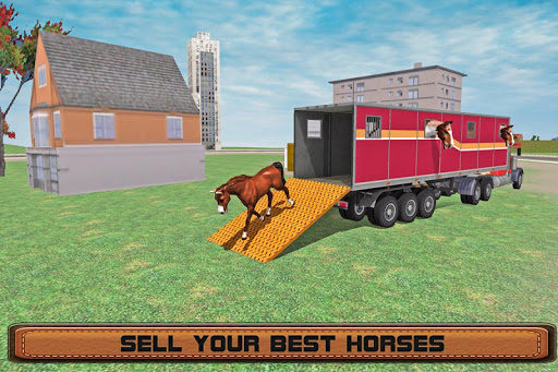 Horse Stunts Transporter Truck  screenshots 8