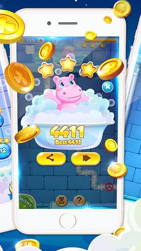 Bathe Hippo - Connect Pipes  screenshots 8