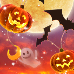 Androidアプリ Happy Halloween ライブ壁紙 カスタマイズ Androrank アンドロランク