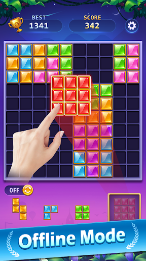 BlockPuz Jewel-Free Classic Block Puzzle Game 1.2.2 screenshots 5