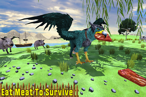 Wild Griffin Family Flying Eagle Simulator  screenshots 9