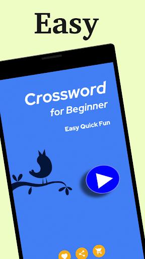 Easy Crossword: Crosswords for Beginner 1.0.8 screenshots 5