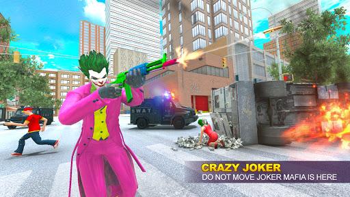 Grand Clown Crime City War: Gangster Crime Games modavailable screenshots 3