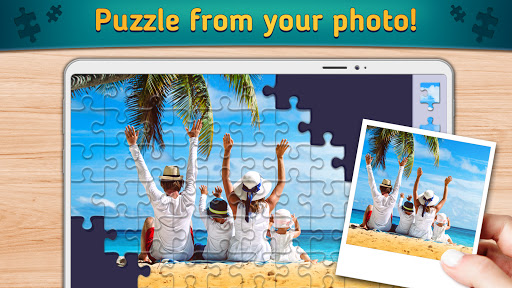 Relax Jigsaw Puzzles android2mod screenshots 4
