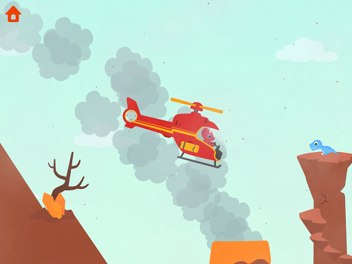 Dinosaur Helicopter - Games for kids  screenshots 11