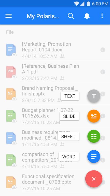 Polaris Office - Free Docs, Sheets, Slides + PDF poster 0