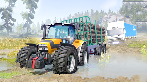 Tractor Pull & Farming Duty Game 2019 1.0 screenshots 4