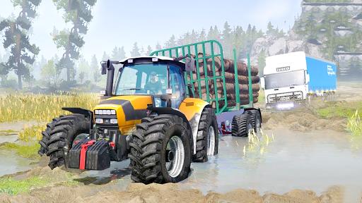 Tractor Pull & Farming Duty Game 2019 1.0 Screenshots 4