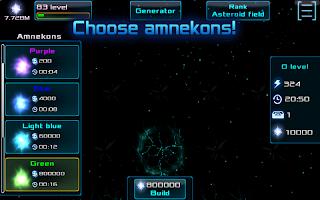 Amneka: Space evolution