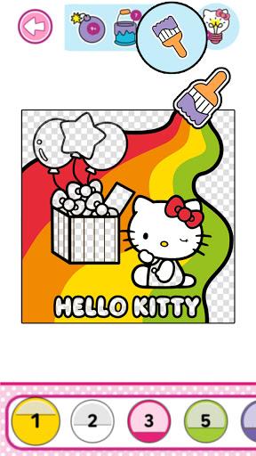 Hello Kitty Coloring Book  screenshots 12