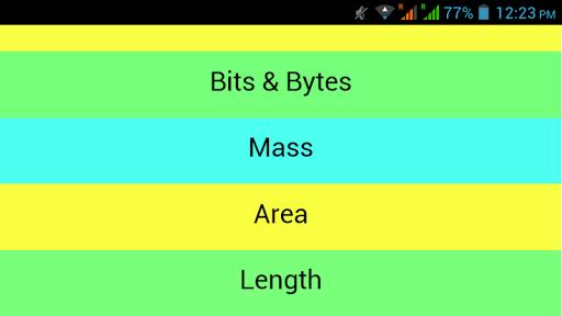 Unit Converter Z 1.1 screenshots 11