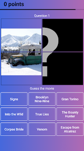 Guess the Movie from Picture or Poster — Quiz Game