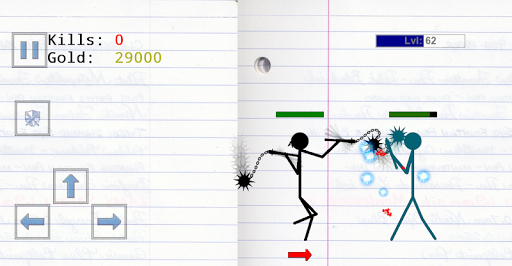Stickman Physics Battle Arena  screenshots 7