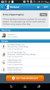 Fitness Buddy : 1700 Exercises