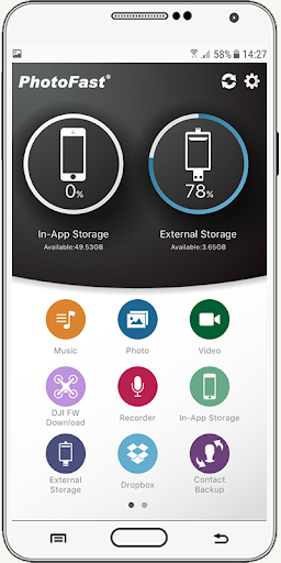 usb otg settings driver connect phone for android  Screenshots 4