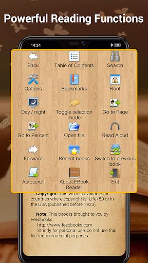 EBook Reader & Free ePub Books android2mod screenshots 3
