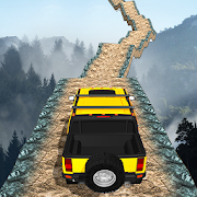 Offroad Jeep Driving Stunt 3D : Real Jeep Games