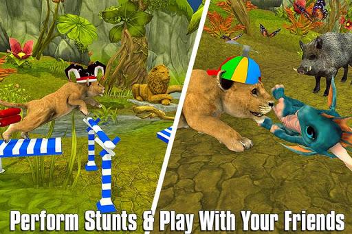 The Lion Simulator: Animal Family Game apktram screenshots 5