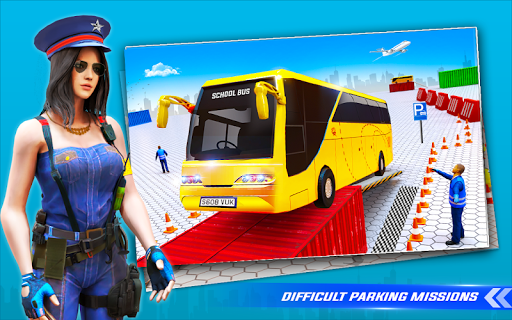 School Bus Driving Simulator Bus Parking Games 20 Screenshots 9
