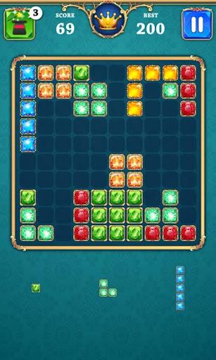 block puzzle legend: 100 star gems screenshot 3