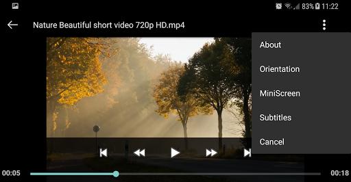 Video player Apkfinish screenshots 6